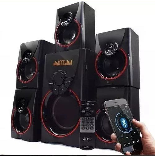 Home Theater 105w Mp3 Fm Pc Micro System Bluetooth
