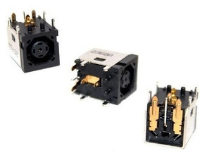 3 Unid Power Jack Dell Inspiron 1545, Xps Octogonal
