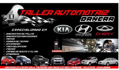 Taller Mecanico Especializado En: Kia Hyundai Chery