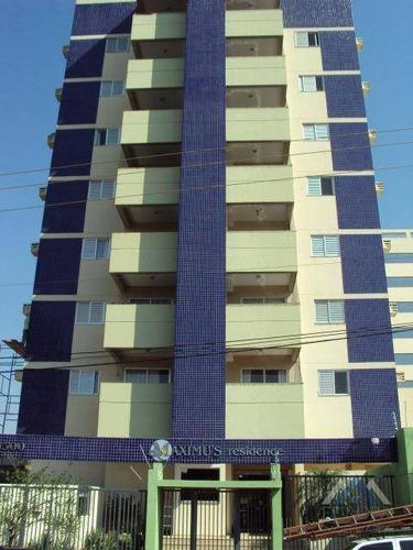 Apartamento Com 2 Dormitórios À Venda, 71 M² Por R$ 358.000,00 - Centro - Londrina/pr - Ap0082