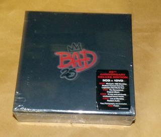 Michael Jackson Bad 25aniversario Caja 3 Cds + Dvd / Kktus