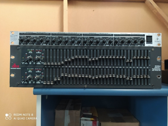 Equalizador Dbx 2231v Estéreo 31 Bandas