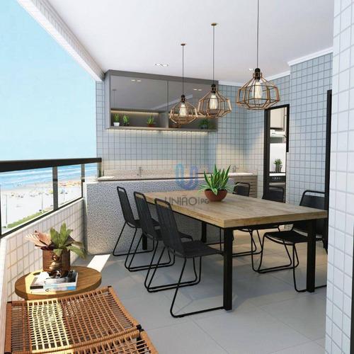 Imagem 1 de 30 de Apartamento Com 3 Dormitórios À Venda, 108 M² Por R$ 573.036,00 - Vilamar - Praia Grande/sp - Ap0242