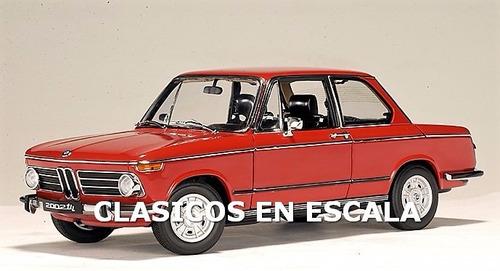 Bmw 2002 Tii - Clasico Aleman - Granada Red - Autoart 1/18
