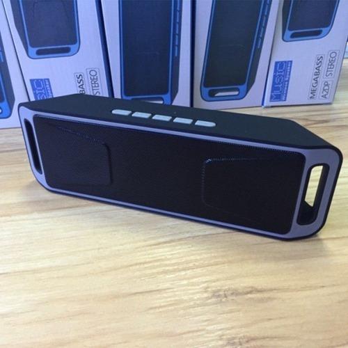 Caixa De Som Megabass A2dp Stereo - Bluetooth P2 Tf Fm Usb
