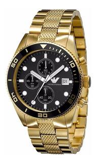 Reloj Cronometro Emporio Armani® Ar5857 Original Importado