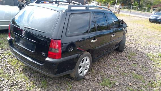 Sucata Parati 1.0 16v Turbo Gasolina 2003 Rs Cai Peças