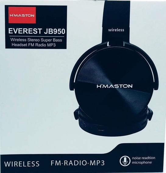 5 Fone Ouvido Hmaston Everest Jb950 Wireless Fm Radio Mp3