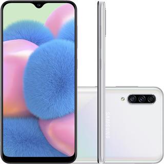 Smartphone Samsung Galaxy A30s 64gb 6.4 Sm-a307gt - Branco