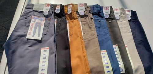 3 Pantalones Furor Originales Maverick Regular Gabardina Mercado Libre