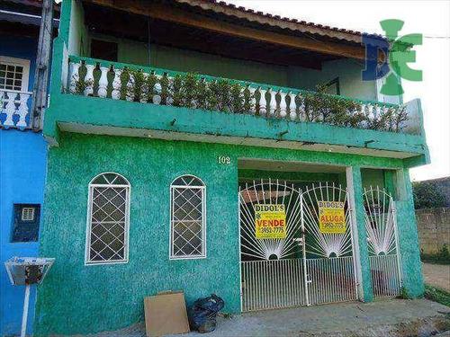 Sobrado Com 4 Dormitórios À Venda, 256 M² Por R$ 280.000,00 - Parque Dos Príncipes - Jacareí/sp - So0067