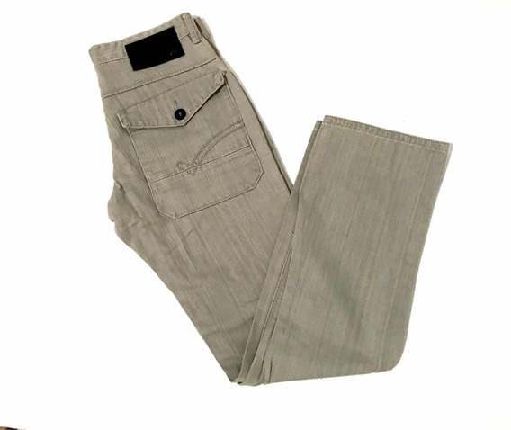 Ecko Unlimited Jeans Pantalón Slim Fit Talla 30x32 Beige