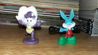 Lote 2 Muñecos Tiny Toon Olimpiadas Buster Bunny Y Fifi