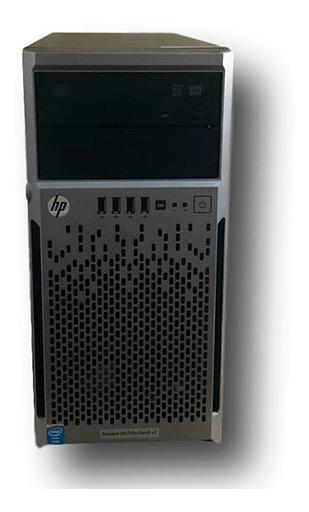 Servidor Hp Ml310e G8 V2 1xeon E31220v3 Quadcore 8gram 4tbhd