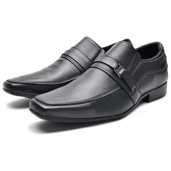 Sapato Social Masculino Casual Preto Barato Promoção