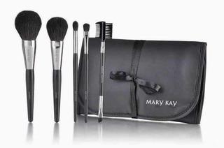 Set De Brochas Mary Kay + Limpiador Brochas Y Envío Gratis