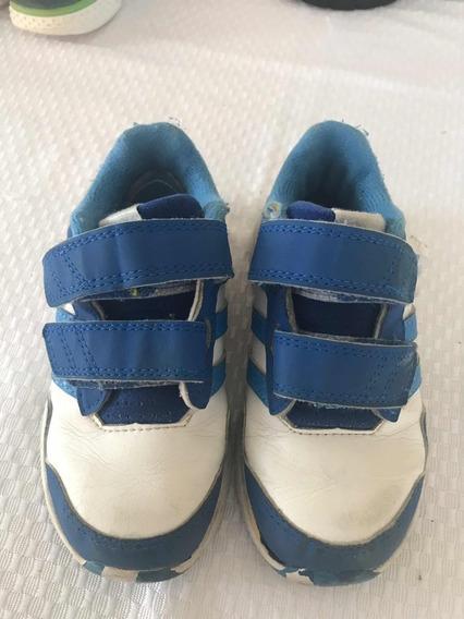 Zapatillas Ideal Jardín Abrojo adidas Originales Blancas