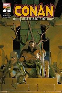 Conan El Bárbaro 3 - Jason Aaron - Asrar - Panini Argentina