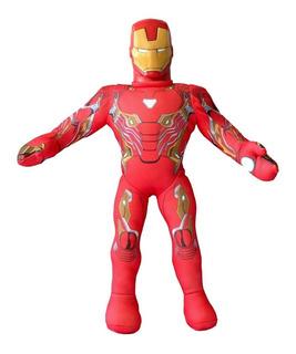 Muñeco Soft Ironman Licencia Marvel New Toys 55 Cm Infinity
