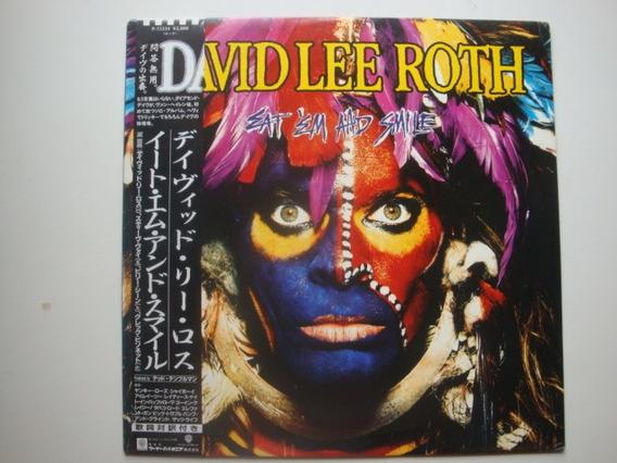 David Lee Roth Eat Em And Smile Lp Vinilo Japon 86 Hh