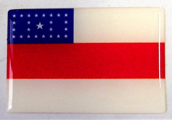 Bandeira Do Estado Do Amazonas Norte Brasil 6x4cm - Bre
