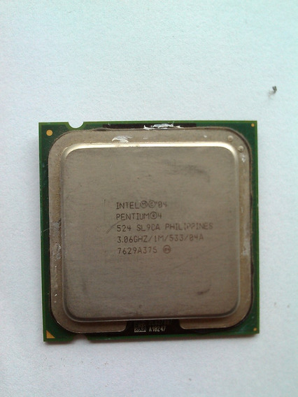 Processador Intel Pentium 4 524, Soquete 775