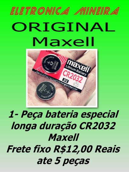 Bateria Pilha Cmos Bios Maxell Cr2032