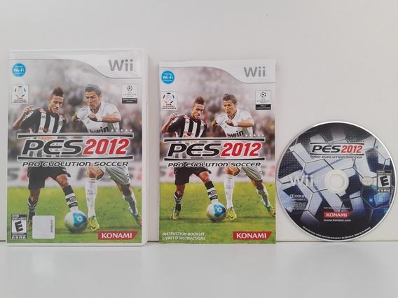 Pes 2012 Nintendo Wii Completo Original Mídia Física