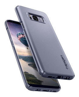 Funda Spigen Thin Fit Gray Orchid Samsung S8 Plus Original