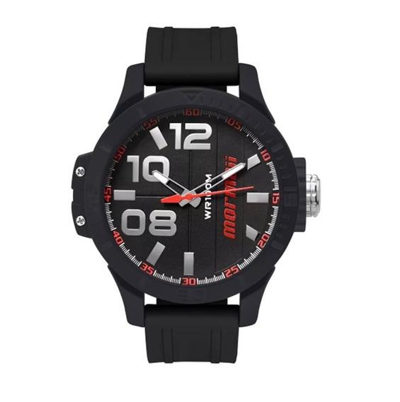Relógio Masculino Mormaii Pulseira De Borracha Mo2035ic/8r