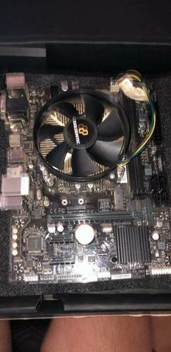 Processador Intel Core I5 7400 + Placa Mae Gigabyte