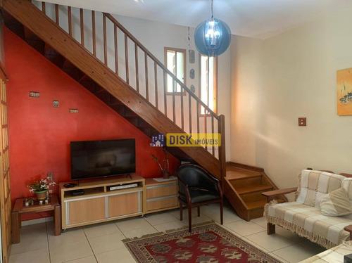 Imagem 1 de 16 de Sobrado À Venda, 185 M² Por R$ 700.000,00 - Vila Dusi - São Bernardo Do Campo/sp - So0779