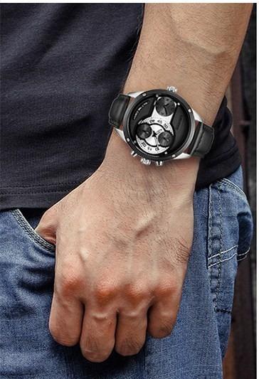Relógio Pulso - Cadisen 50mm Quartzo - Hardlex - Funcional