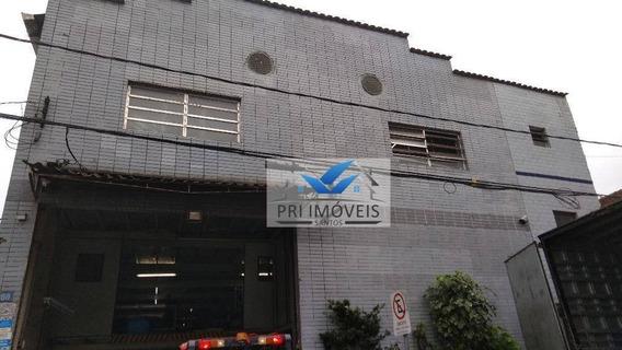 Galpão À Venda, 1200 M² Por R$ 1.750.000,00 - Valongo - Santos/sp - Ga0003