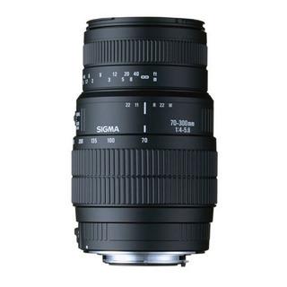 Lente Sigma 70-300mm Dg Macro Para Pentax 4 Años Garantia