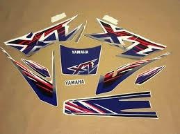 Kit De Adesivos Yamaha Xt 600 - 99 Azul