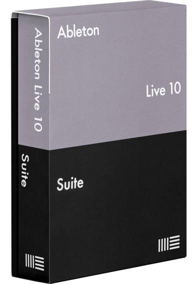 Ableton Live Suite 10 + Sylenth1 + Serum + Massive + Kick 2