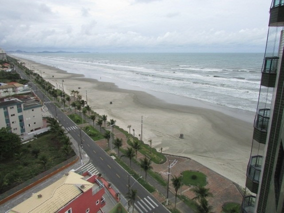 4329 -apartamento Frente Ao Mar 1 Dormitório Praia Grande F