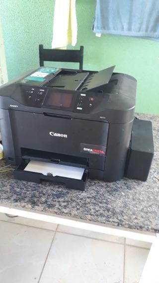 Impressora Canon Maxify Mb5110 Com Bulk Ink, Cabeçote Novo