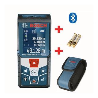 Medidor De Distancia Laser Bosch Glm 50 C Bolso Bluetooth Profesional Cinta Metro Digital Nivel Manual Mano Lasér