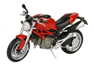 Ducati Monster 1100 Marca Newray Moto Escala 1/12 Die Cast