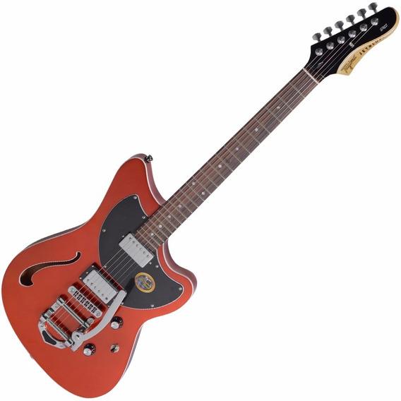 Guitarra Semi Acústica Bigsby Brasil Tagima Jet Blues Delux