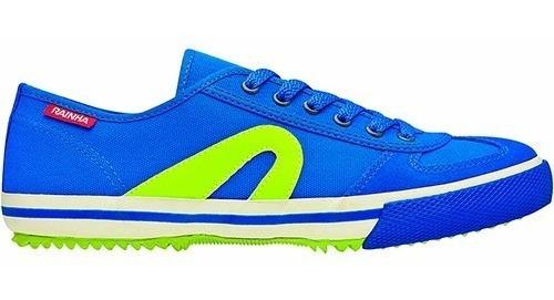 Tênis Casual Vl 2500 Masculino - Rainha Volei Azul/verde