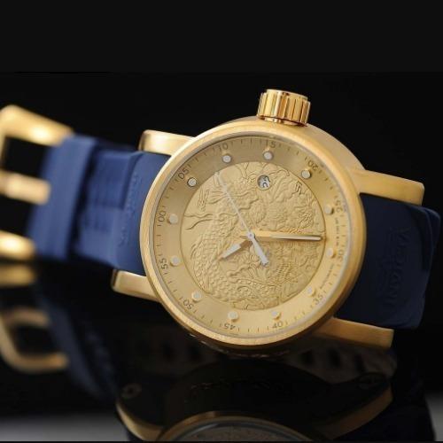 Relógio Invicta Yakuza S1 Mod: 18215 Automático B/ouro 18k