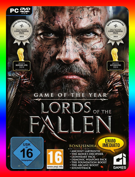 Lords Of The Fallen Pc - Steam Key (envio Já)
