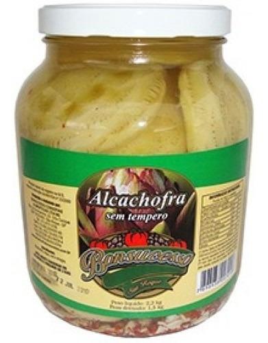 Imagem 1 de 1 de Fundo De Alcachofra Conserva Sem Tempero 2,2kg. - Bonsucesso