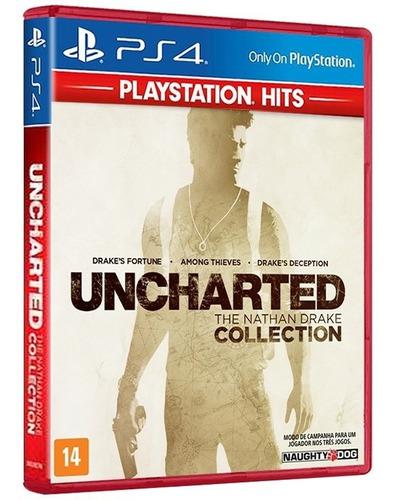 Imagem 1 de 6 de Uncharted: The Nathan Drake Collection - 100% Em Port. - Ps4