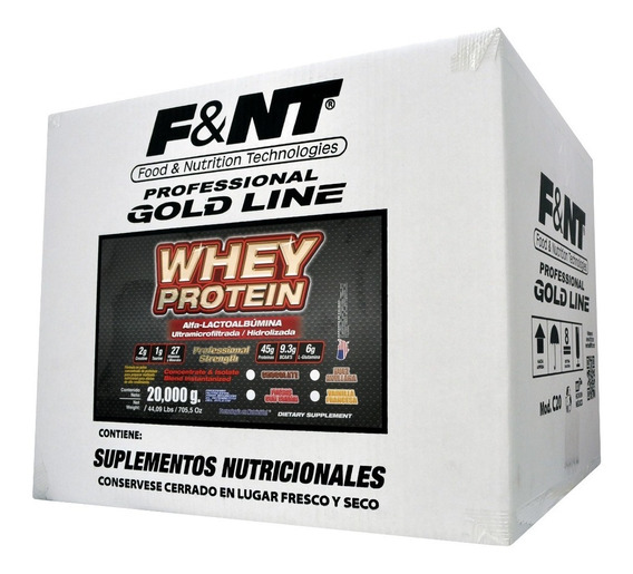 Whey Protein 20,000 Gr Alfa Lactoalbúmina Proteina De Leche