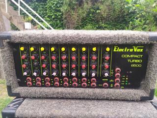 Consola Potenciada 500w 8 Canales Eq Electro Voz / Decoud