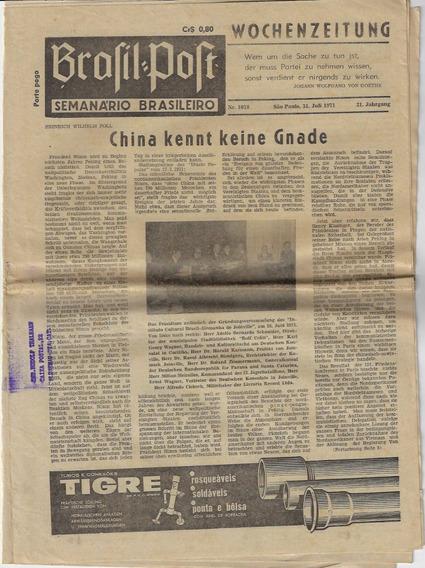 1971/1974 - 11 Edições Do Jornal Brasil Post De São Paulo